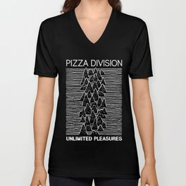 Pizza Division Unisex V-Neck