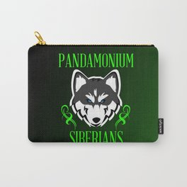 Pandamonium Siberians  Carry-All Pouch
