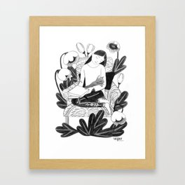 I Dream Stories Framed Art Print
