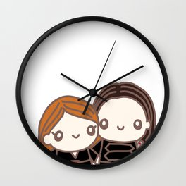 BuckyNat Wall Clock