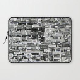 An Elite Club of Billions (P/D3 Glitch Collage Studies) Laptop Sleeve