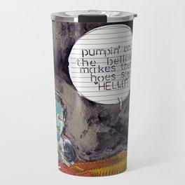 vinyl remix: the polka pimp Travel Mug