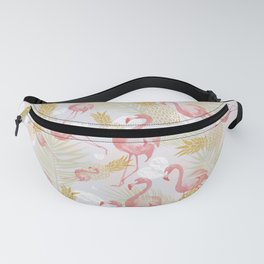Tropical fruit animals Fanny Pack