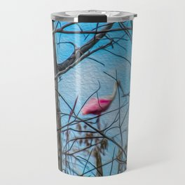 The Rose in the Tree Travel Mug