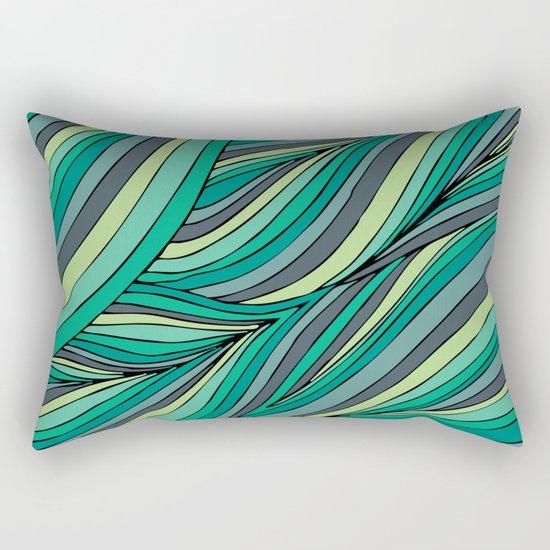 Organic Forest Rectangular Pillow