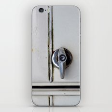 Rusty door iPhone & iPod Skin
