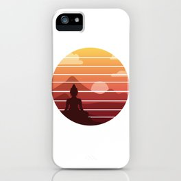 Sunset In Thailand iPhone Case