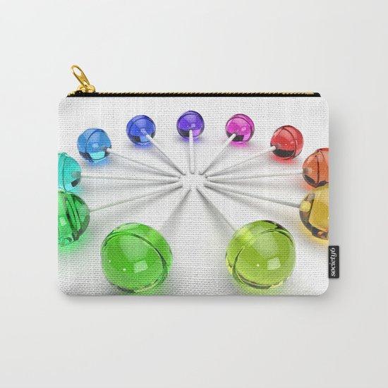 Rainbow Lollipop Carry-All Pouch