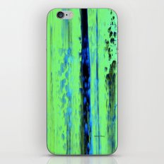 Gerhard Richter Inspired Urban Rain 2 - Modern Art iPhone & iPod Skin