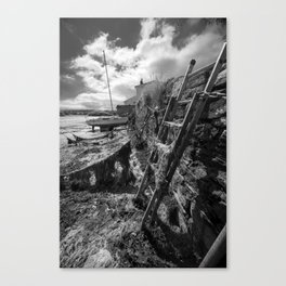 Estuary Steps Canvas Print