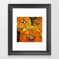 Sunset Poppies Framed Art Print