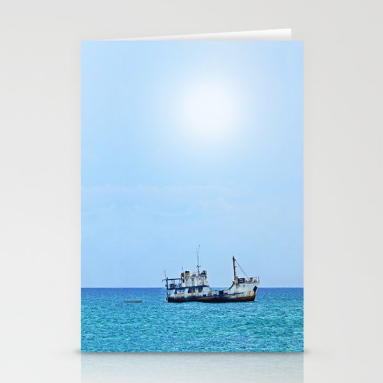 RUST FLOATS (Guadacanal, Solomon Islands) Stationery Cards
