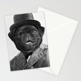 Sir Winston Pug Churchill Stationery Cards