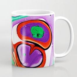 Abstract #10: Cell Dance Coffee Mug