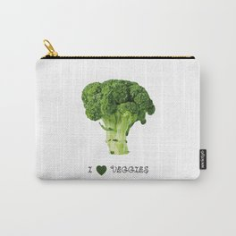 Broccoli - I love veggies Carry-All Pouch