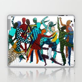 Dancing your own step Laptop & iPad Skin