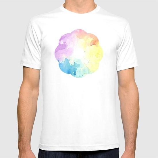 watercolor T-shirt