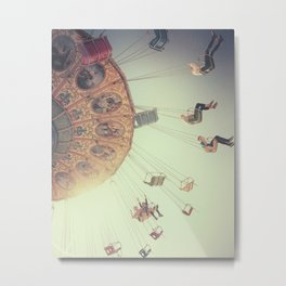 Swing ride Metal Print