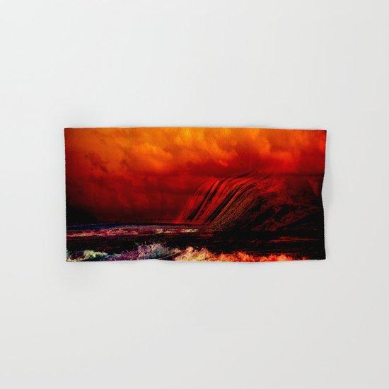 Volcano Hand & Bath Towel