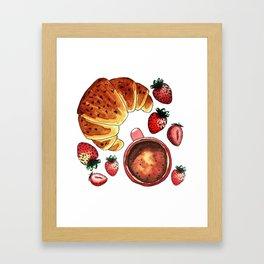 Breakfast, maybe! Framed Art Print