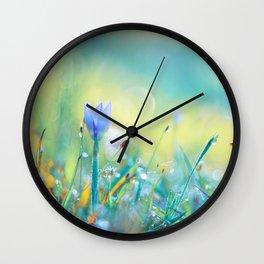 The Lady of Sun Wall Clock