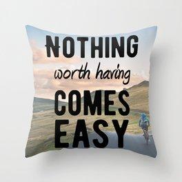 Motivational - Determination - Motivation Throw Pillow