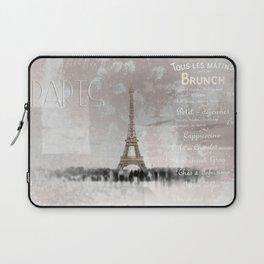 Digital-Art Eiffel Tower II Laptop Sleeve