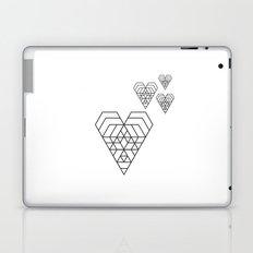 Hex heart Laptop & iPad Skin