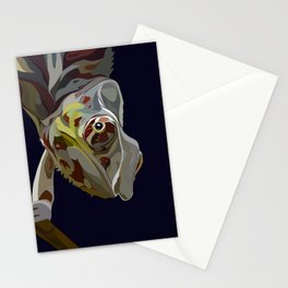 Nosy Be Me Chameleon  Stationery Cards