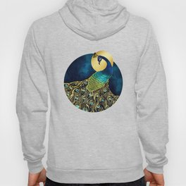 Golden Peacock Hoody