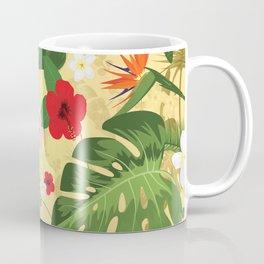 Tropical Flower Background 2 Coffee Mug