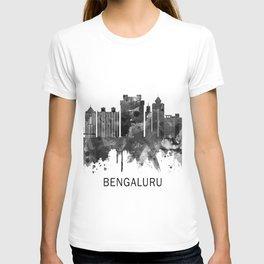 Bengaluru Karnataka Skyline BW T-shirt