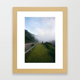The Conemaugh Gap. Framed Art Print