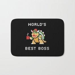 World's Best Boss Bath Mat