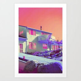 Dawning in Summer St. Art Print
