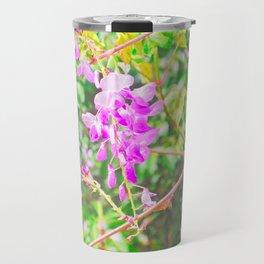 Little Purple Flowers Travel Mug