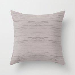 Meteor Stripes - Taupe Throw Pillow