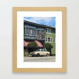 Potrero Grocery Framed Art Print