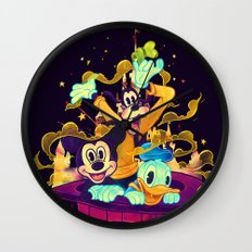 Trouble Makers Wall Clock