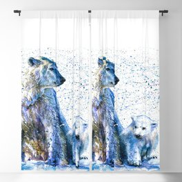 Polar bear Blackout Curtain