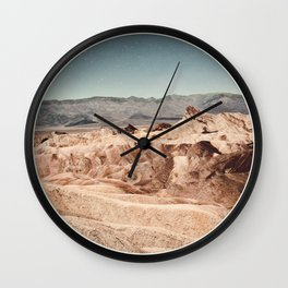 Death Valley Imaginaries Wall Clock
