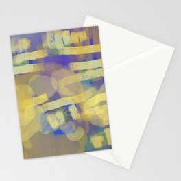 for the love of yellow Stationery Cards
