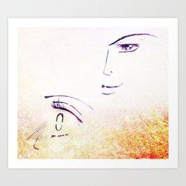 Blush Art Print