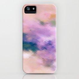 Color Burst - Blue Hydras iPhone Case