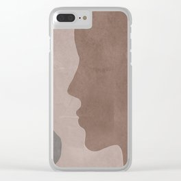 Next to Me Clear iPhone Case