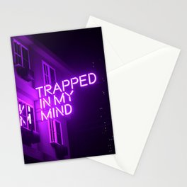 Trapped In My Mind Stationery Cards