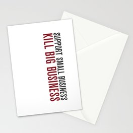 Support Small Business Stationery Cards