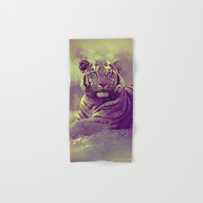 Tiger II Hand & Bath Towel