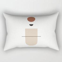La mente splende - The mind that shines - abstract art Rectangular Pillow