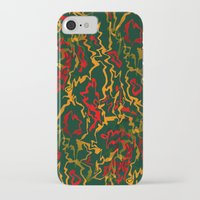 rasta iPhone & iPod Cases featuring Rasta Time... by Cherie DeBevoise
